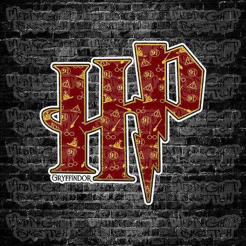 Gryffindor House Sticker