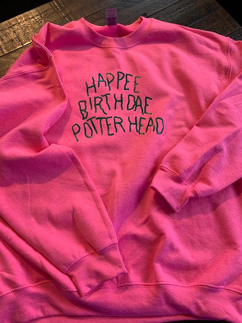 Happee Birthdae Sweatshirt