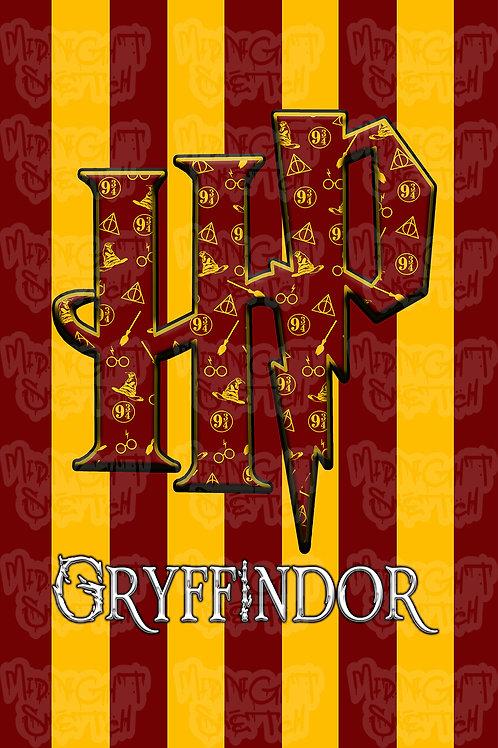 HP Gryffindor Poster
