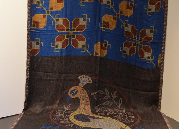 Cashmere Silk Blend Scarf Shawl - India