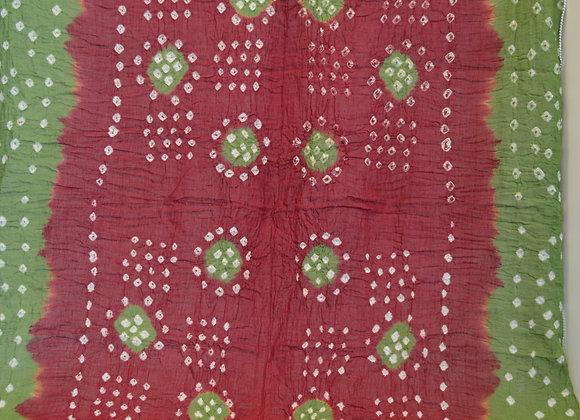Cotton Tie Dye scarf- India