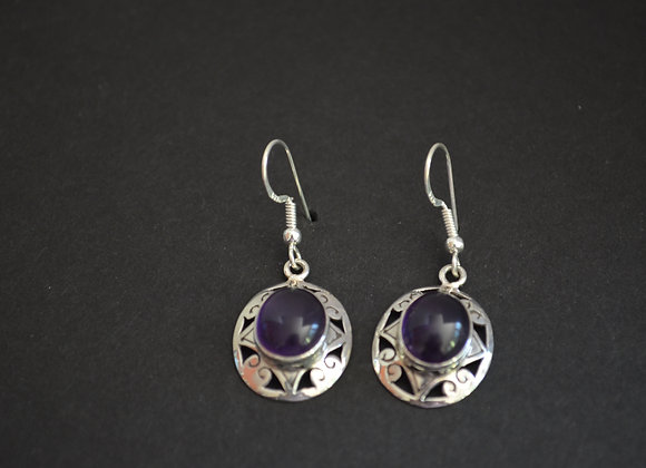 Sterling Silver- India Amethyst