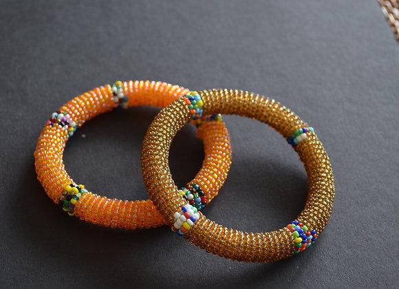 Kids Beaded Bracelets- Africa (2)