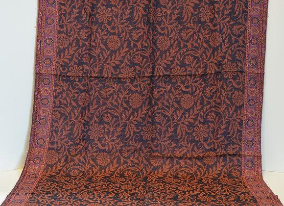 Cashmere Silk Blend Scarf/Shawl -  India