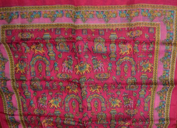 Silk scarf- Sri Lanka