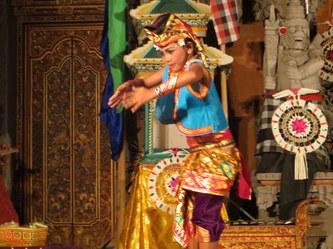 Bali dancer, Ubud