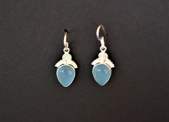 Sterling Silver Chalcedony -  India