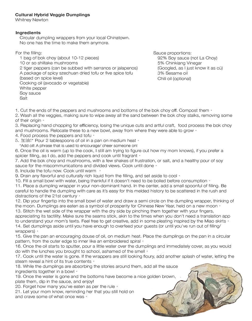 Cultural Hybrid Veggie Dumpling Recipe - Whitney_Page_2.jpg