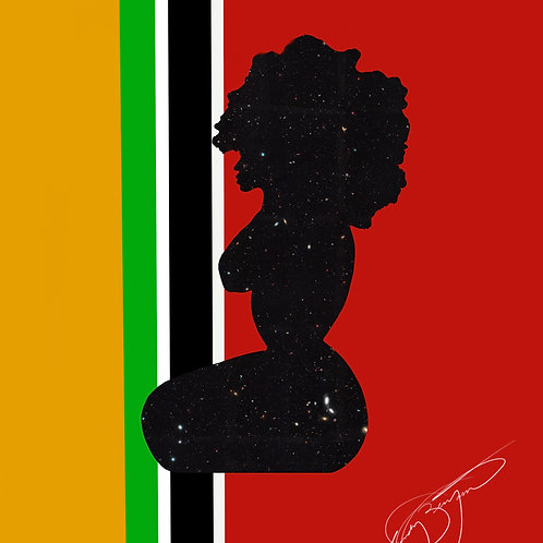 Afrocentric Woman Artwork