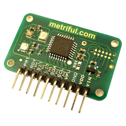 Metriful MS430 with Soldered Right Angle Header