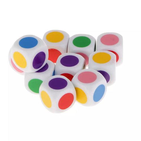 Кубик с цветной точкой