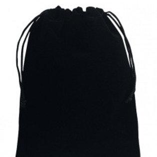 Мешочек из бархата- черный 10х15 см