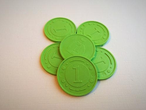 Монета игровая №1