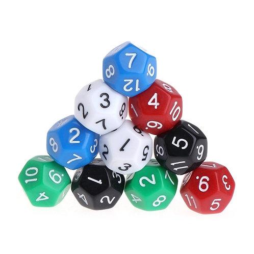 Многогранный кубик D12