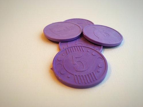 Монета игровая №5