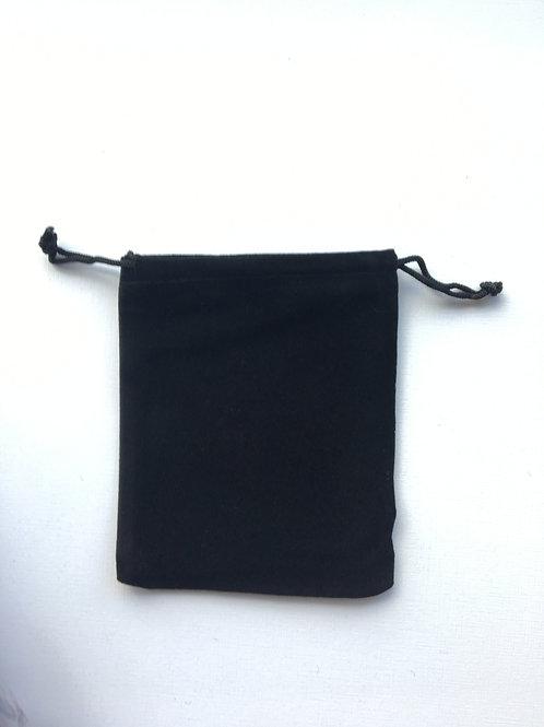 Мешочки бархатные черные 10х12 см