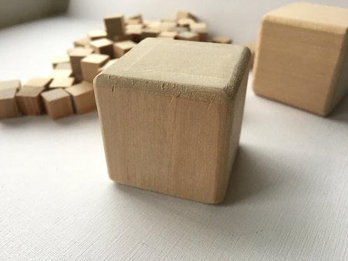 Кубик дерево    40 мм