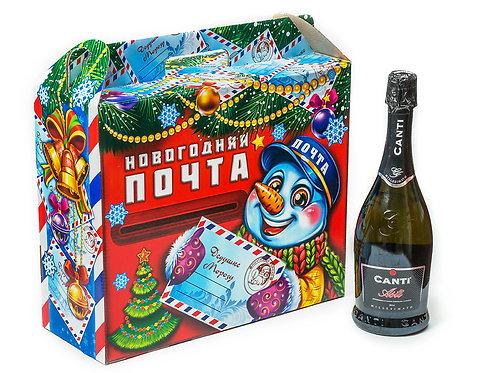 Новогодняя упаковка «Почта» на 7 кг