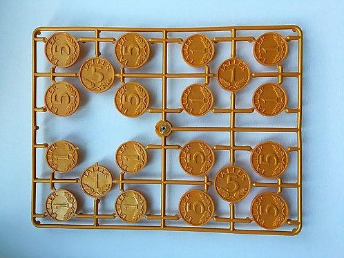 Монеты Талер золото - литник