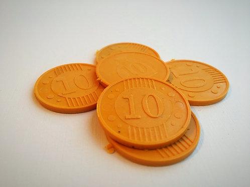 Монета игровая №10