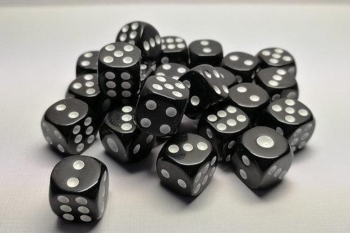 Кубик черный 14 мм