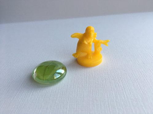 Пингвин- желтый