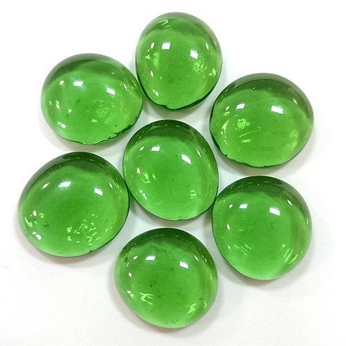 Марблс плоский зеленый 16-18 мм