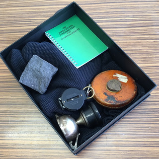 Collecting objects for object handling sessions based on the film, the 'Neva'
