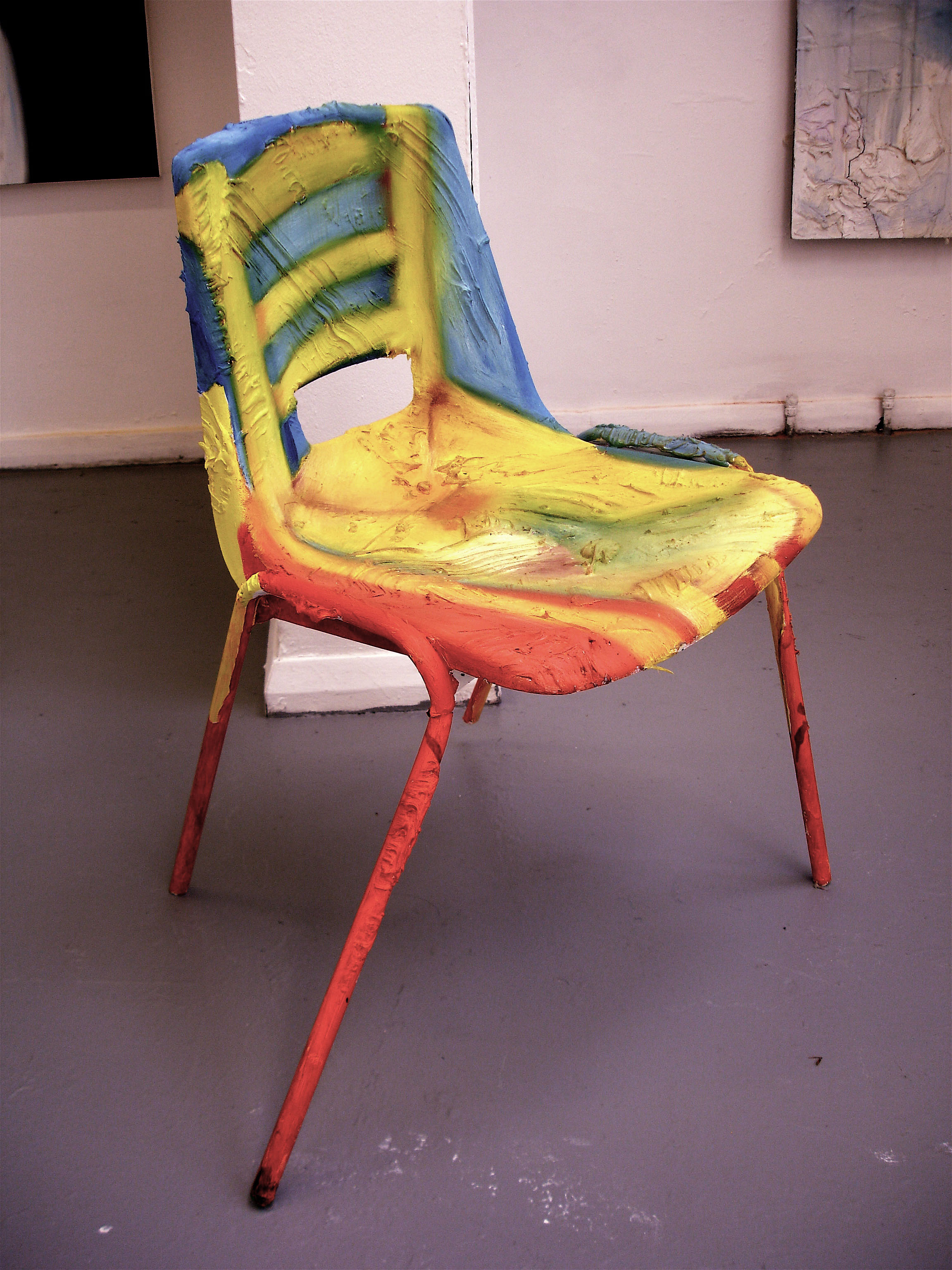 Broken Chair, 2007