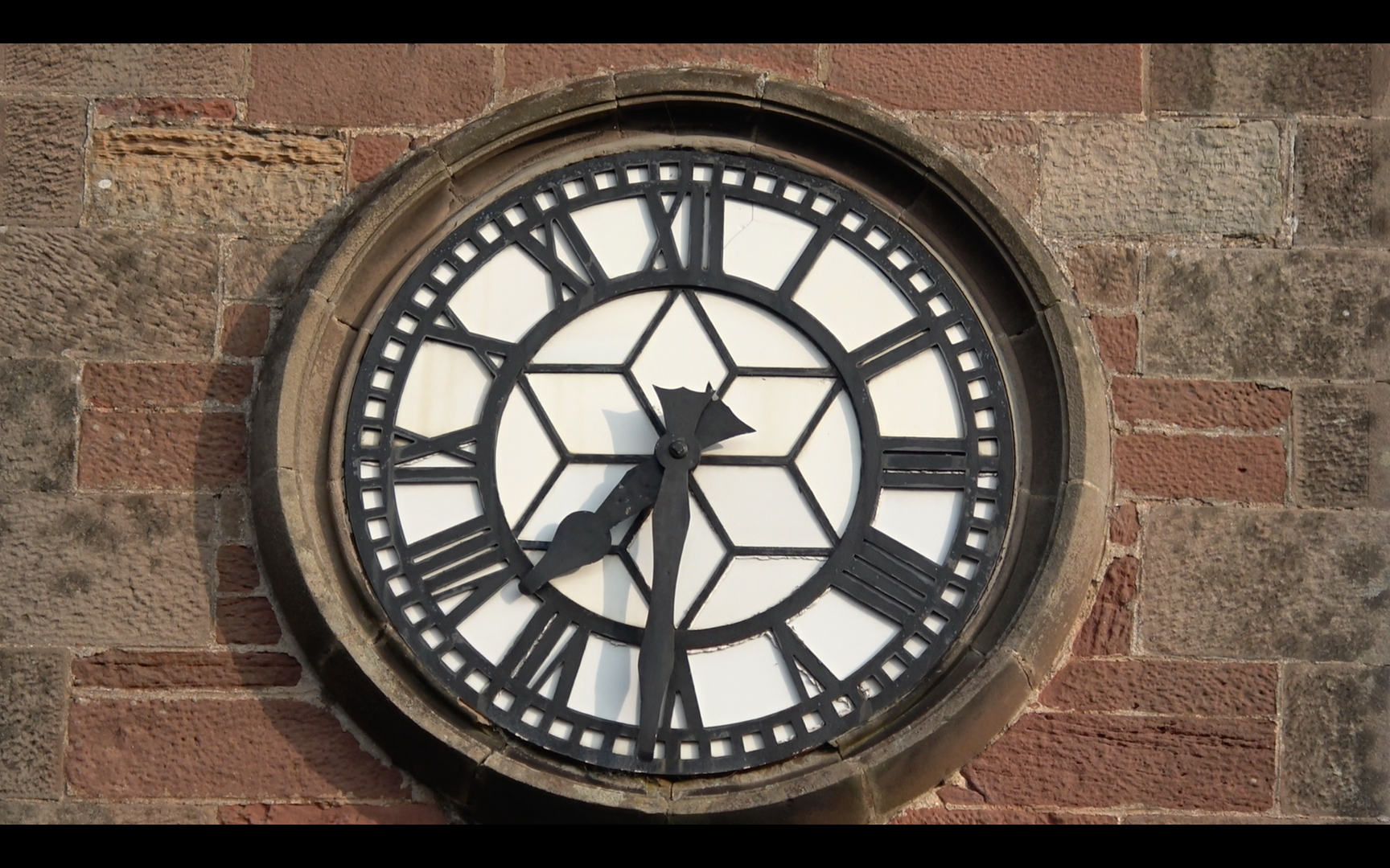 Clockface on Gifford Town Hall