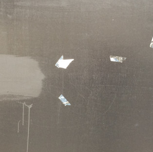 Wet Paint on Wall, 2017