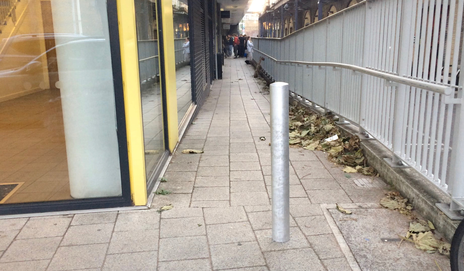 10 replica bollards were planted in selected pedestrian locations around Deptford (for DeptfordX Fringe). Documentation of public interactions with the bollards were recorded and broadcast live online.