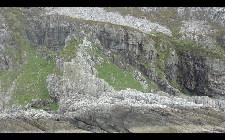 Slate Cliffs, Scarba, Scotland