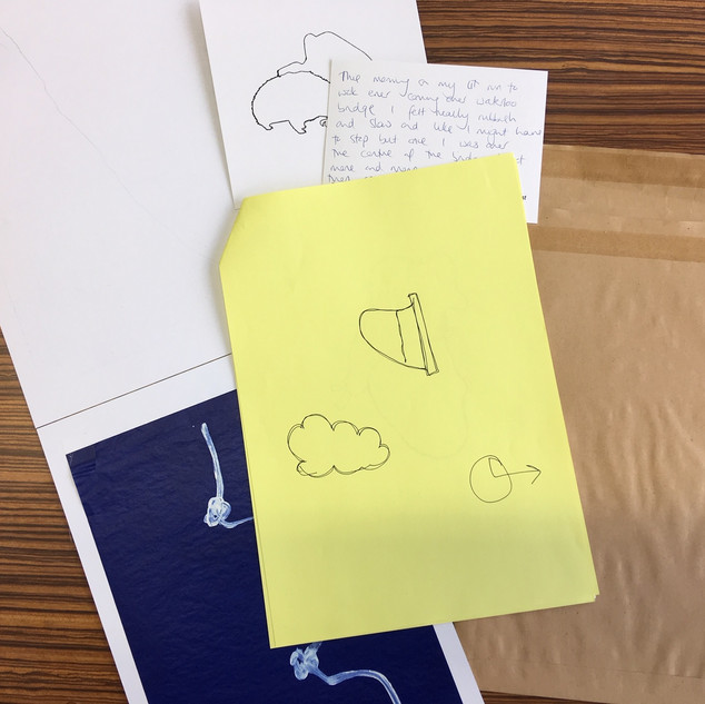 We've been devising a battery of drawing activities so people taking part in the tour can feedback on experiences of testing and art, whilst contributing to the development of new research projects