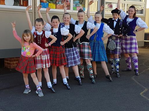 Dancing Students Display