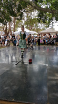 Fete Display - Scottish Dancing