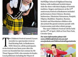 21st Childrens Festival in Bankstown