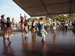 Karen McPhillips School of Highland Dancing Display