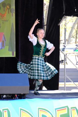 Scottish Dancing display