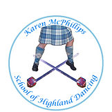 Karen McPhillips Scottish Dacing Logo
