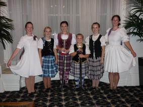 Formal Display Scottish Dancing
