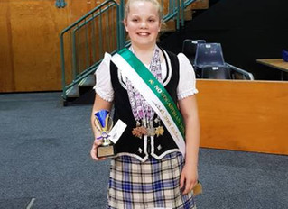 Dancer prances away with several medals at Champion of Champion 2018 competition