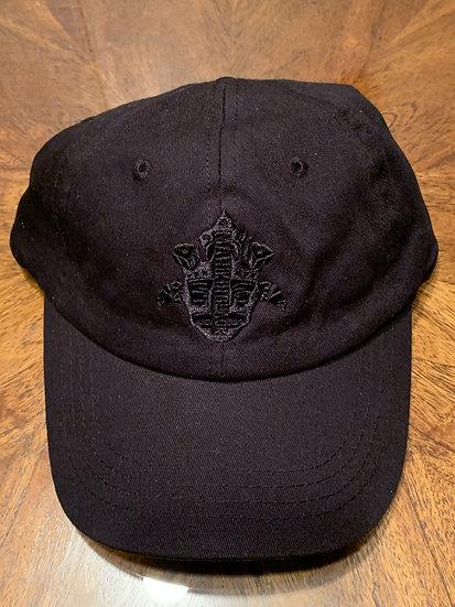 Blaqk on Blaqk Dad Hat