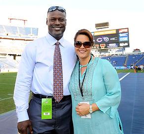 Super Bowl Champion & CBS Sports Reporter, Kevin Carter & Tresa Halbrooks