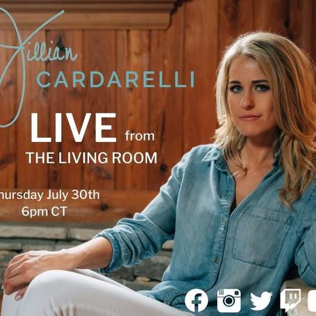 Jillian Cardarelli LIVE Thursday, July 30th