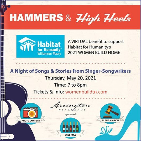 """Habitat for Humanity Announces Annual Event """"Hammers and High Heels"""" Women Build Fundraiser"""