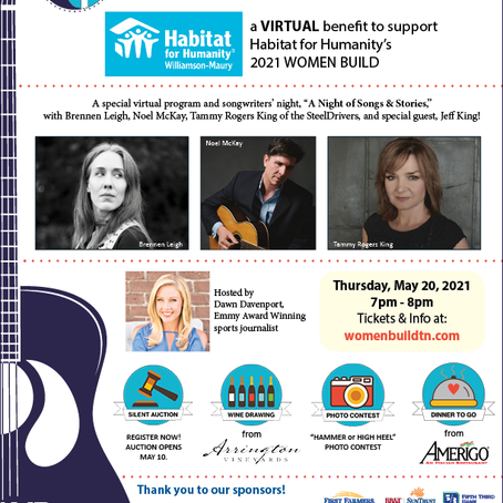 Habitat for Humanity Williamson-Maury Announces Performers for Hammers & High Heels Event