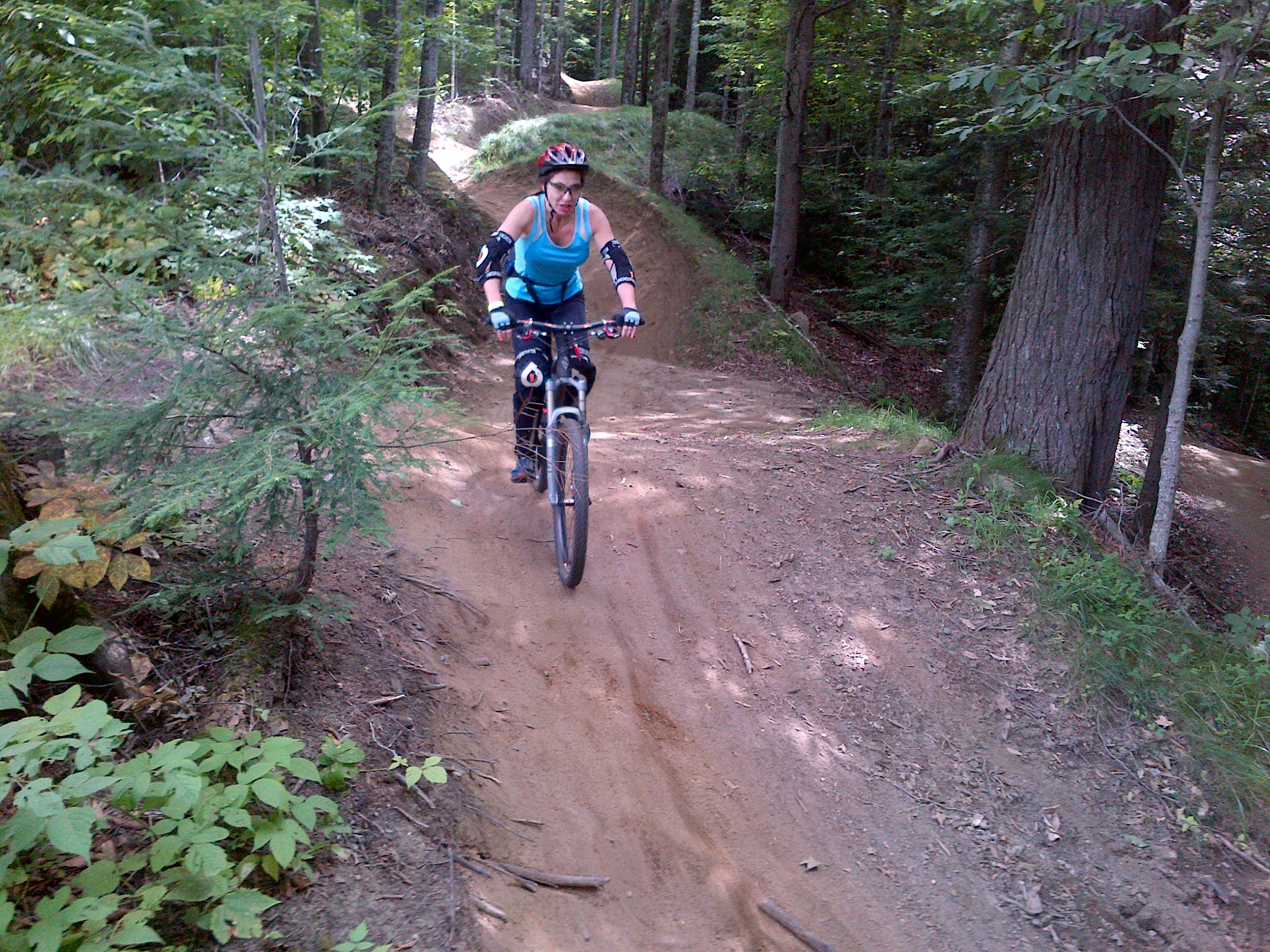 bike park - green trail