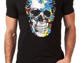 Artjunkie Stops Burtons from selling copies Skull Butterfly T shirt