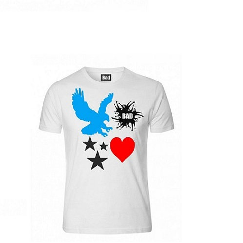 Bad Sticker logo Tshirt